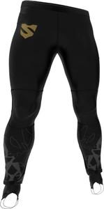 Czarne spodnie sportowe Smmash z tkaniny