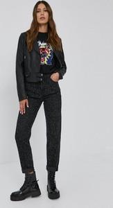 Czarna kurtka Pinko w stylu casual krótka