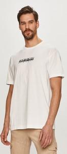 T-shirt Napapijri z dzianiny w sportowym stylu