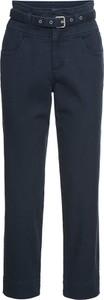 Granatowe spodnie bonprix RAINBOW