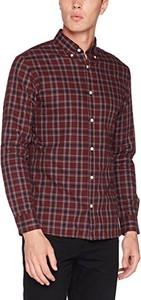 Bordowa koszula jack & jones premium