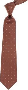 Czerwony krawat Kiton