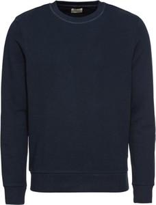 Granatowy sweter Jack & Jones z dżerseju