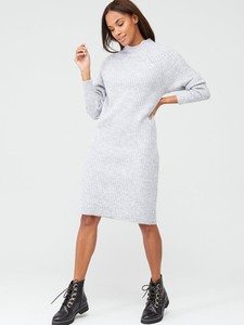 Sukienka V by Very w stylu casual midi z golfem