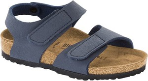Buty dziecięce letnie Birkenstock na rzepy ze skóry