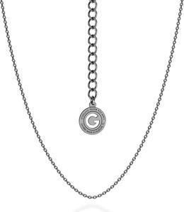GIORRE SREBRNY DELIKATNY ŁAŃCUSZEK ANKER 925 : Długość (cm) - 45 + 5, Kolor pokrycia srebra - Pokrycie Czarnym Rodem