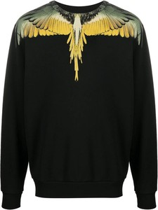 Czarna bluza Marcelo Burlon z bawełny