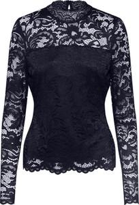 Bluzka Vero Moda z tkaniny z długim rękawem