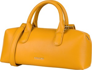 Żółta torebka PUCCINI matowa