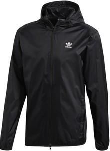 Czarna kurtka Adidas z tkaniny