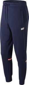 Niebieskie spodnie sportowe New Balance