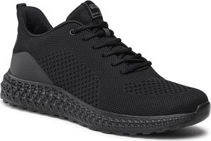 Czarne buty sportowe Sprandi w sportowym stylu