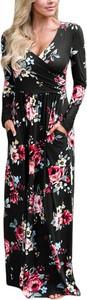 Elegrina maxi sukienka cordelia czarna