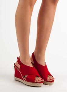 Sandały Anesia Paris z zamszu