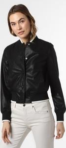 Czarna bluzka Armani Exchange w stylu casual z długim rękawem