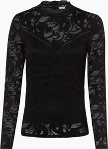Czarna bluzka Vila z okrągłym dekoltem