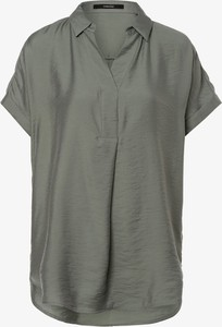 Brązowa bluzka someday. z kołnierzykiem