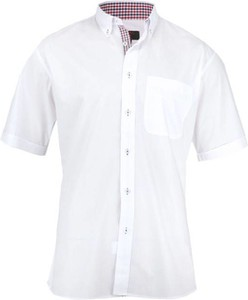 Koszula Jurel z klasycznym kołnierzykiem z krótkim rękawem