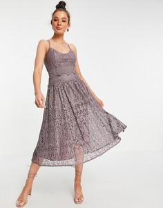 Sukienka Asos na ramiączkach z dekoltem w kształcie litery v