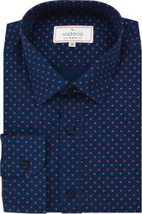 Granatowa koszula Victorio