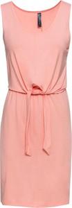 Sukienka bonprix RAINBOW z okrągłym dekoltem mini