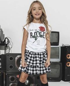 Bluzka dziecięca All For Kids z bawełny dla dziewczynek