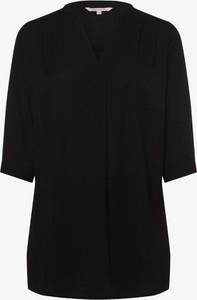 Czarna bluzka ONLY Carmakoma z szyfonu z okrągłym dekoltem
