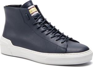 Sneakersy CALVIN KLEIN - Okey F0996 Nvy/Wht/Pstl Ylw/Oxb