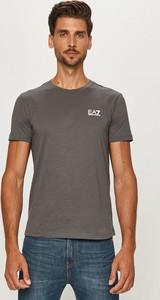 T-shirt Emporio Armani w stylu casual z dzianiny