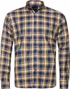 Koszula Di Selentino z tkaniny z kołnierzykiem button down w stylu casual