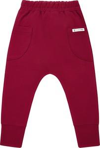 Spodnie dziecięce Mammamia z bawełny dla dziewczynek