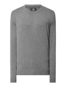 Sweter Lerros w stylu casual z okrągłym dekoltem