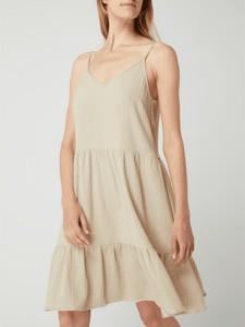 Sukienka Minus z dekoltem w kształcie litery v w stylu casual na ramiączkach