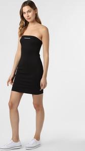Czarna sukienka Calvin Klein w stylu casual bez rękawów mini