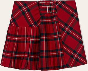 Spódniczka dziewczęca Mayoral z tkaniny w krateczkę