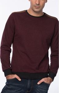 Sweter Dewberry w stylu casual z okrągłym dekoltem