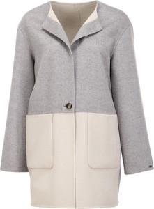 0ea016acfb7b5 Płaszcz Tommy Hilfiger w stylu casual z wełny