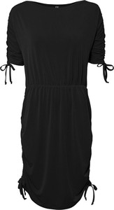 Sukienka bonprix mini z okrągłym dekoltem