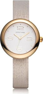 Elegancki zegarek damski GeekThink - złoty