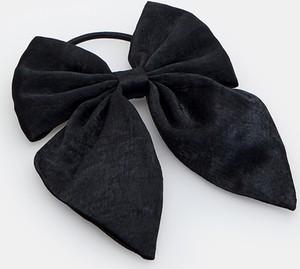 Mohito - Gumka do włosów z kokardą - Czarny