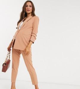 Różowe spodnie Asos