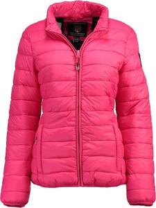 Różowa kurtka Geographical Norway krótka