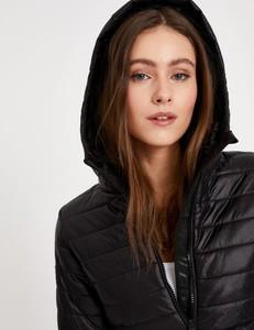 Czarna kurtka Diverse w stylu casual krótka