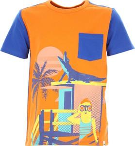 Pomarańczowa koszulka dziecięca Billybandit z krótkim rękawem