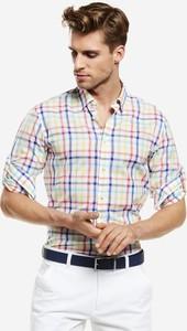 Koszula Lambert z długim rękawem w stylu casual z bawełny