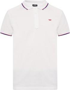 T-shirt Diesel w stylu casual z bawełny