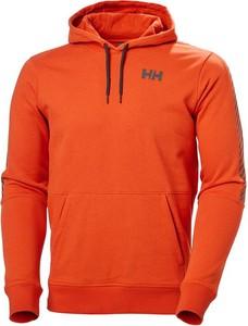 Pomarańczowa bluza Helly Hansen w młodzieżowym stylu