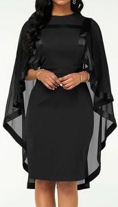 Sukienka Arilook z długim rękawem z okrągłym dekoltem