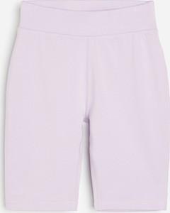 Fioletowe spodnie dziecięce Reserved