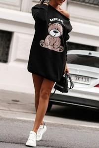 Bluza IVET krótka w młodzieżowym stylu